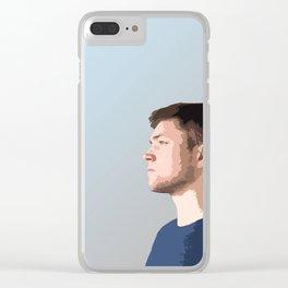 Taron Egerton Clear iPhone Case