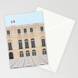 Paris, France | Buren's Columns, Palais Royal Stationery Cards