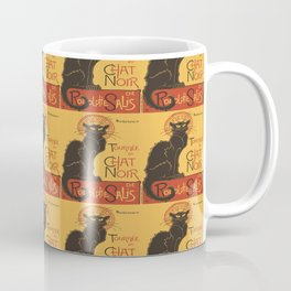 Tournee du Chat Noir De Rodolphe Salis Vector Coffee Mug