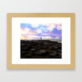 Causeway Dreamer Framed Art Print