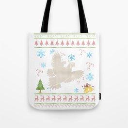 Quail Hunting Christmas Ugly Holiday Shirt Tote Bag