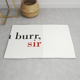 Aaron Burr, sir Rug