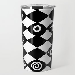Jazz Harlequin Travel Mug