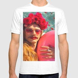 Selfies By The Pool James Franco Fan Art T-shirt