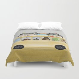 a little vacation Duvet Cover