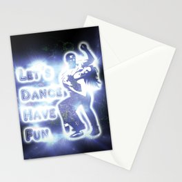 lets dance have fun Stationery Cards