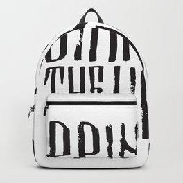 BMTH Lettering Backpack