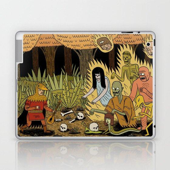 The Woodland Ghosts Laptop & iPad Skin