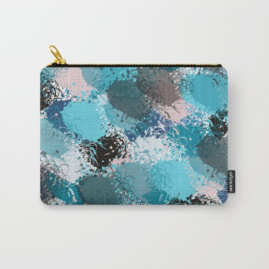 Abstract pattern 68 Carry-All Pouch