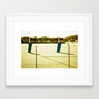 rugby Framed Art Prints featuring Rugby by Sébastien BOUVIER