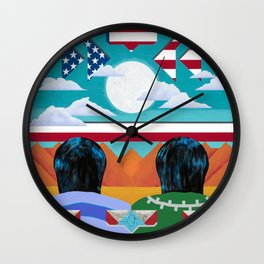 The Long View Wall Clock