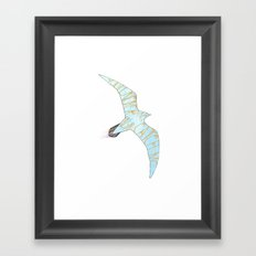 No, You'll Never Catch Me Now Framed Art Print