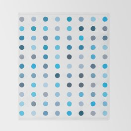 Dalmatian - Sky #924 Throw Blanket