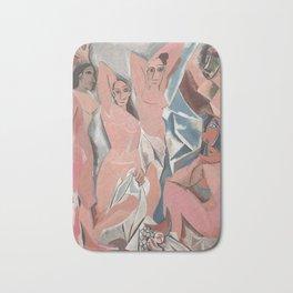 Pablo Picasso - Les Demoiselles d'Avignon Bath Mat