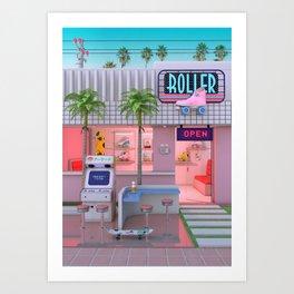Roller Skate Nostalgia Art Print