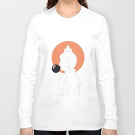 Buddha : Concentrate on the Void! Long Sleeve T-shirt