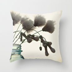 Sunlit Thistle  Throw Pillow