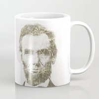 lincoln Mugs featuring Abraham Lincoln by Sney1