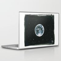laia Laptop & iPad Skins featuring Moon by Laia™