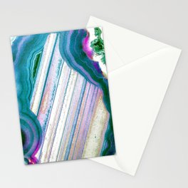 Agate Geode Stationery Cards