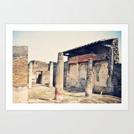 Pompeii Still Standing Art Print