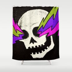 Variations on a Skull Part One Shower Curtain