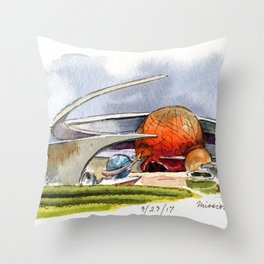 Mission: Space Throw Pillow