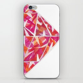 Pink Orange Diamond iPhone Skin