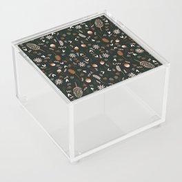 Autumn feeling pattern Acrylic Box