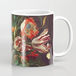 Vase of Flowers II - de Heem Coffee Mug