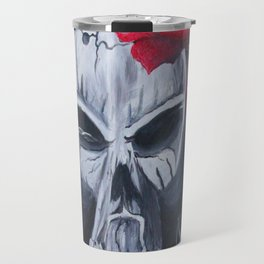 Gunshot of Roses Travel Mug