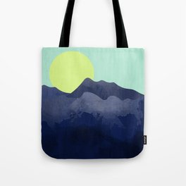Sunset Mountain Tote Bag