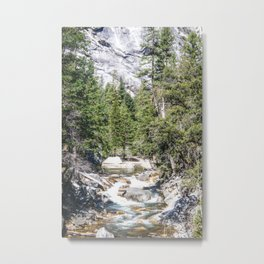 Merced River From the Mirror Lake Trail Metal Print