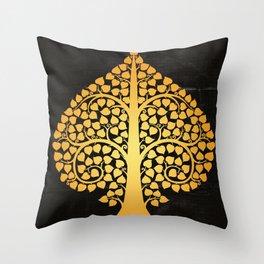 Bodhi Tree0205 Throw Pillow