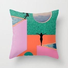 EAT A DICK / YOU SELFISH PRICK Throw Pillow