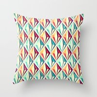 diamonds Throw Pillows featuring Diamonds by VessDSign