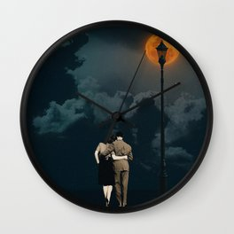 THE OCEAN BOY AND THE SKY GIRL Wall Clock