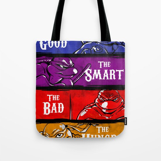 The Good, The Smart, The Bad and The Hungry Tote Bag
