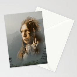 Peter Iron Shell, Sioux Indian Stationery Cards