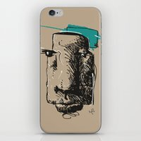 totem iPhone & iPod Skins featuring Totem by Mauricio Cosío