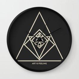 ReyStudios Monochromatic 6 Wall Clock