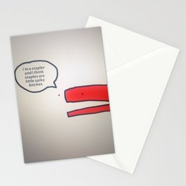 Staple Bitches | Veronica Nagorny  Stationery Cards