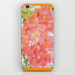 Mexico Blossom Pink & Yellow Flower iPhone Skin