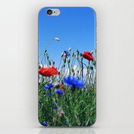 poppy flower no12 iPhone Skin