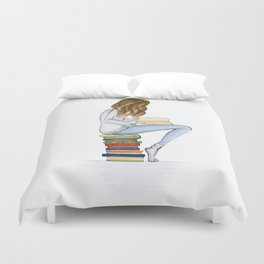 book worm Duvet Cover