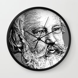 Johannes Brahms WB Wall Clock