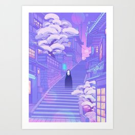 Kaonashi Art Print