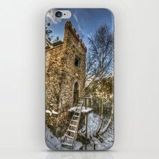 Snow tower iPhone & iPod Skin