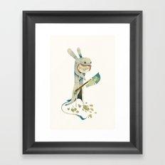 la guigne Framed Art Print
