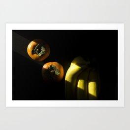 Slice of Sun: Fruit Art Print